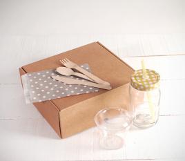 Kit de caja para desayunos