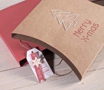 Coser cajas para regalar
