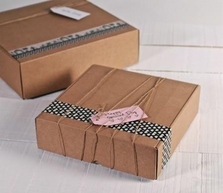 Scatole quadrate in cartone selfpackaging - Cajas de carton decoradas baratas ...