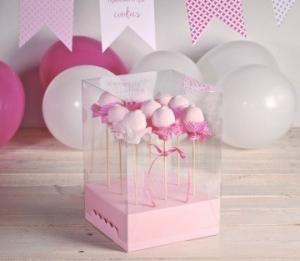 Scatole trasparenti per cake pop
