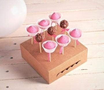 Comprar cajas para cake pops