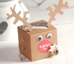 Cajita de Rudolf para Navidad