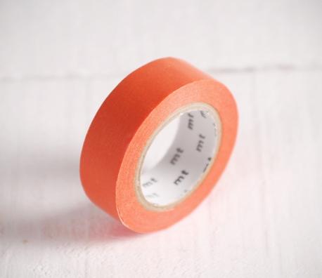 Washi tape naranja