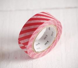 Washi tape de rayas gruesas