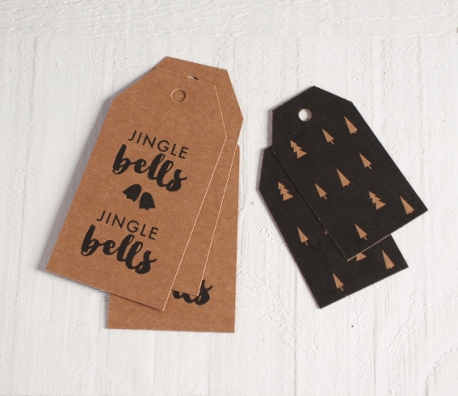 Etiquetas Jingle Bells para Regalos