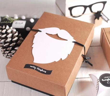 Caja regalo con barba