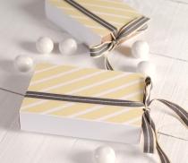 Rectangular chocolate box