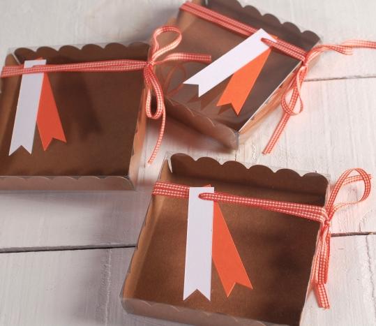 Cajita decorada para galletitas