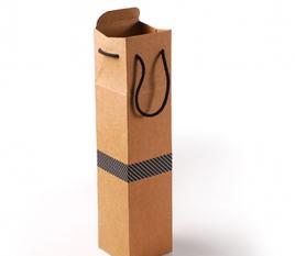 Cardboard Box for a Bottle