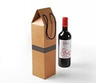 Cardboard Box for a Bottle