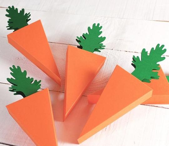 Caja zanahoria