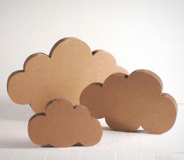 Nubes de cartón