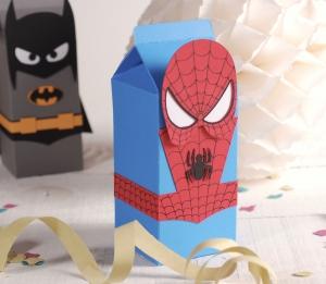Caja Spiderman