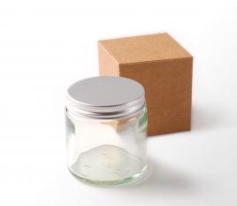 Glasbehälter für Cremes und Kosmetikprodukte