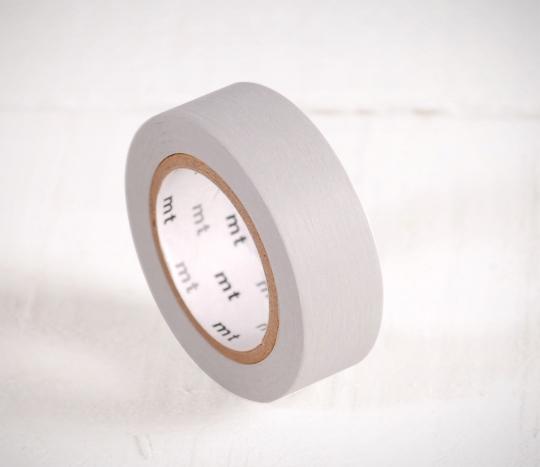 Washi tape de color gris