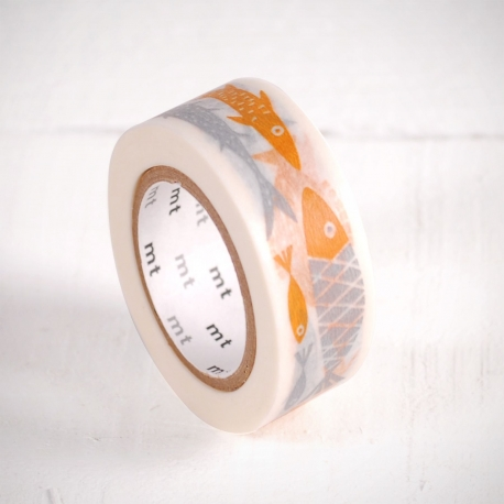Washi tape de pececitos
