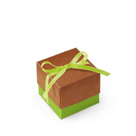 Einfache quadratische Schachtel mit Deckel