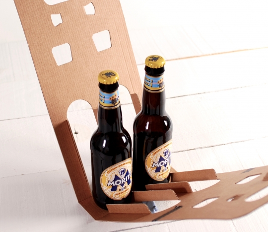 Decorated packaging for beers