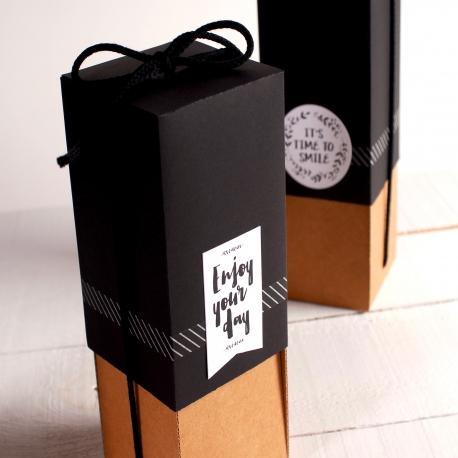 Caja para regalar botellas