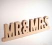 Cardboard Mr & Mrs