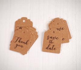 Etiquetas para bodas