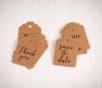 Etichette decorative per matrimoni