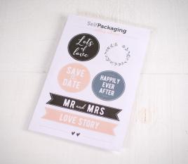 Pegatinas para bodas