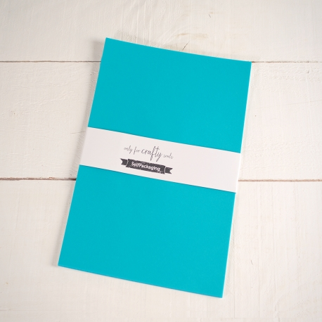 Turquoise A4 Construction Paper