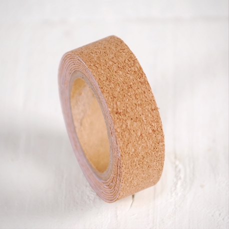 Smooth cork washi tape