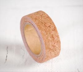 Washi tape di sughero con grana