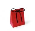 Ribbon tie card gift bag