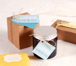 Caja para cremas artesanas