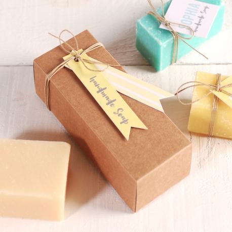 Scatola per regalare saponi