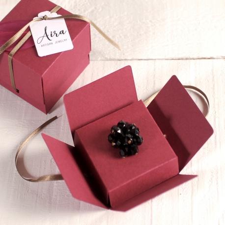 Scatolina decorata per gioielli