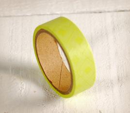 Washi tape verde limone