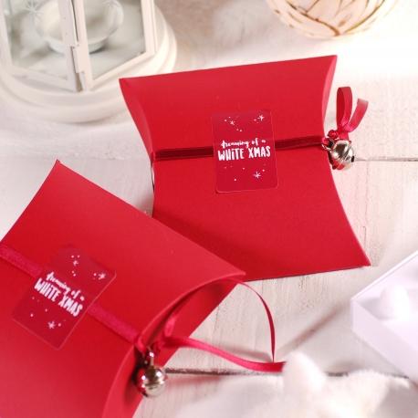 Cajita roja Navidad