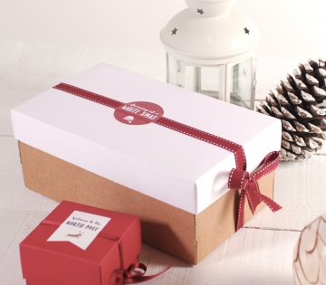 White Xmas box