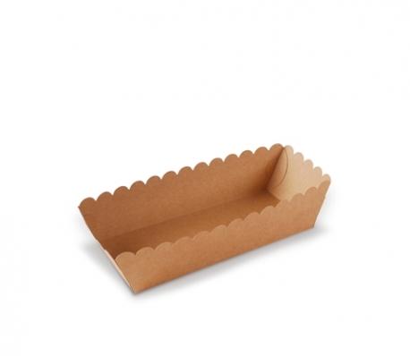 Vassoio rettangolare per dolci e hot dog