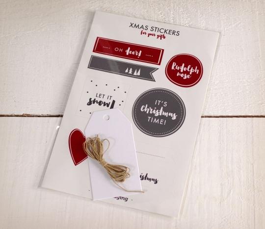 Kit Adesivi ed etichetta di Natale