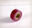 Small burgundy washi tape