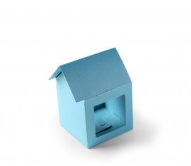 Karton-Häuschen