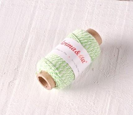 Cordón Algodón Bicolor Mini