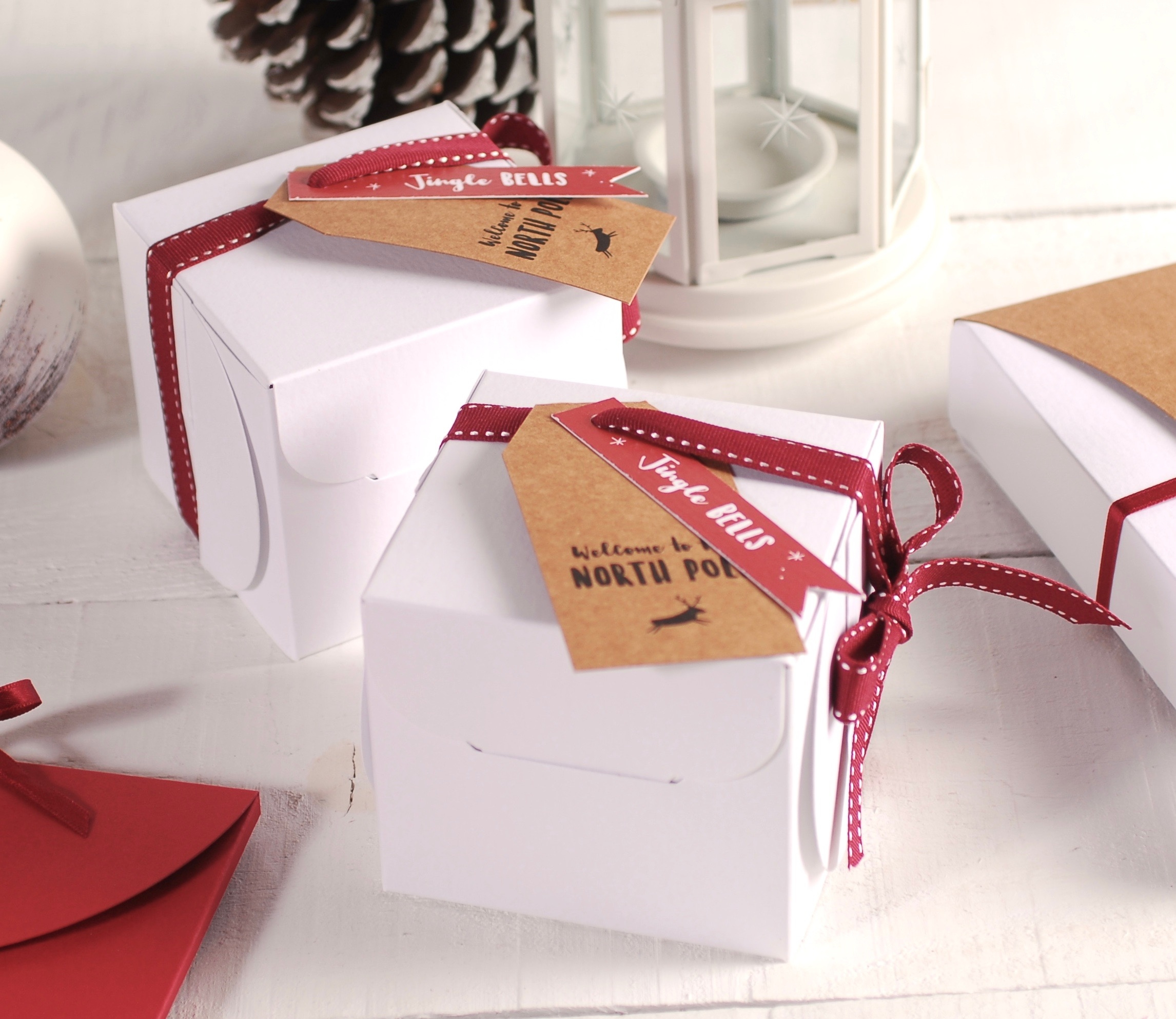 Scatole Per Regali Di Natale.Scatole Per Natale Selfpackaging