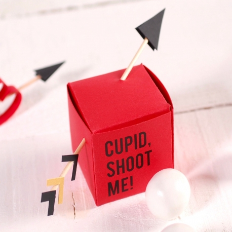 Box with Cupid's arrows