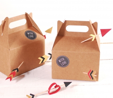 Caja de picnic con mucho amor