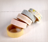 Pack washi tapes nórdicos