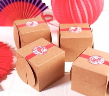 Oriental-style gift box