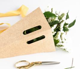 Kasten für Blumensträuße