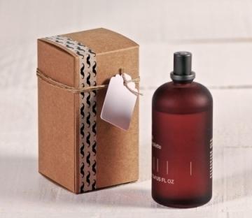 Rectangular cardboard gift box