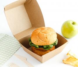 Scatola per hamburgers